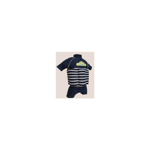 Polyotter Blue Stripe Floatsuit 51cm