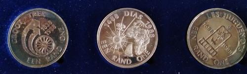 1988 silver r1 second decimal series coin set