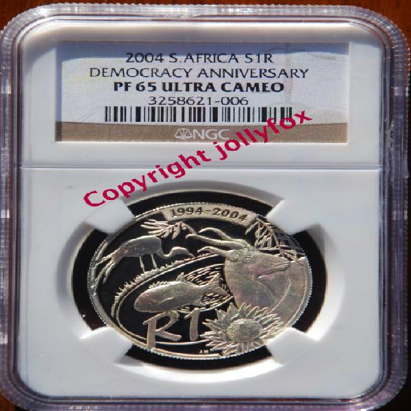 Only 1 in the world!! *** 2004 silver r1 democracy annv