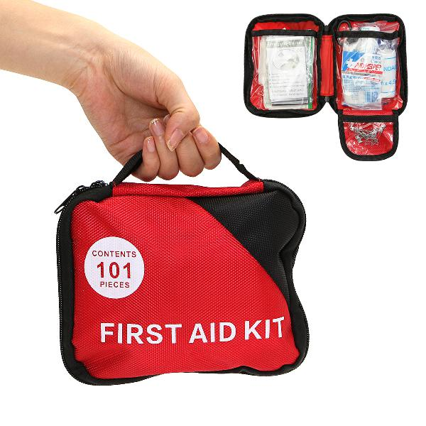 101 pieces first aid kit nylon portable outdoor emergency