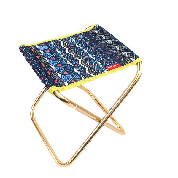 Bearing 100kg folding chair hiking camping portable stool