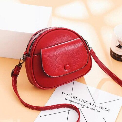 Fashion designer shoulder bag pu leather crossbody messenger