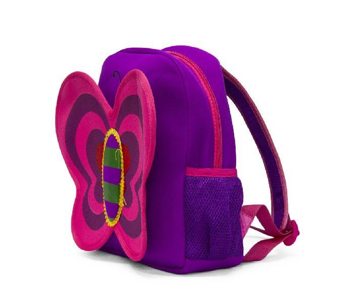 Kids neoprene backpacks - butterfly purple