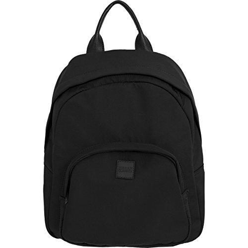 Midi nylon backpack black one size