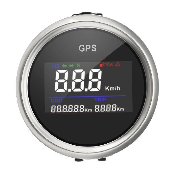 52mm waterproof motorcycle car truck gps digital speedometer