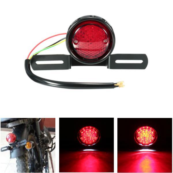 Dc 12v motorcycle led tail stop brake rear light lamp for