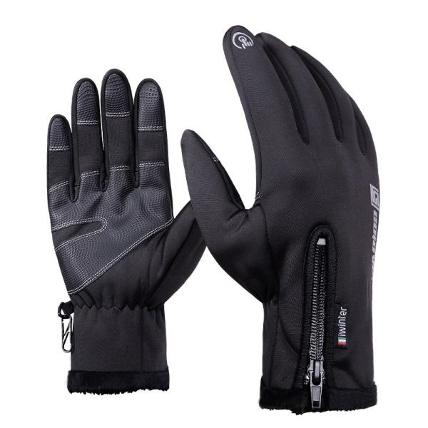 Waterproof touch screen gloves for motorcycle cycling skiing