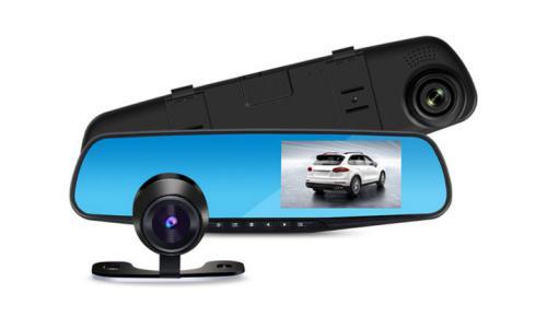 3.2¿ full hd 1080 vehicle blackbox dvr g sensor dual camera