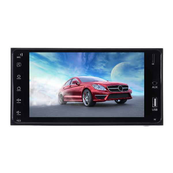 7inch 2 din for android 8.1 car mp5 player 1+16g gps fm wifi