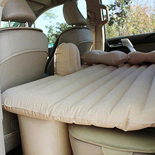 Car air bed inflatable mattress back seat cushion two