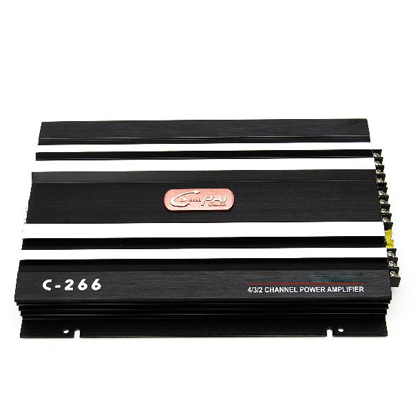 Car audio power amplifier 1600 watt 4 channel 12v car