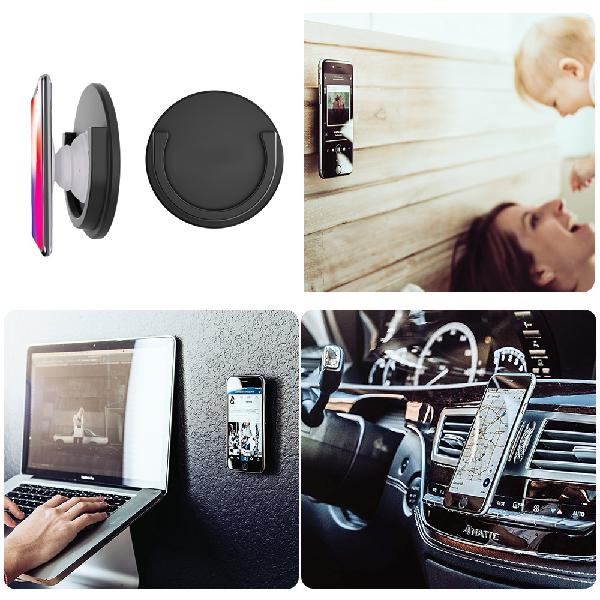 Imars min silicone stick car phone holder mobile phone