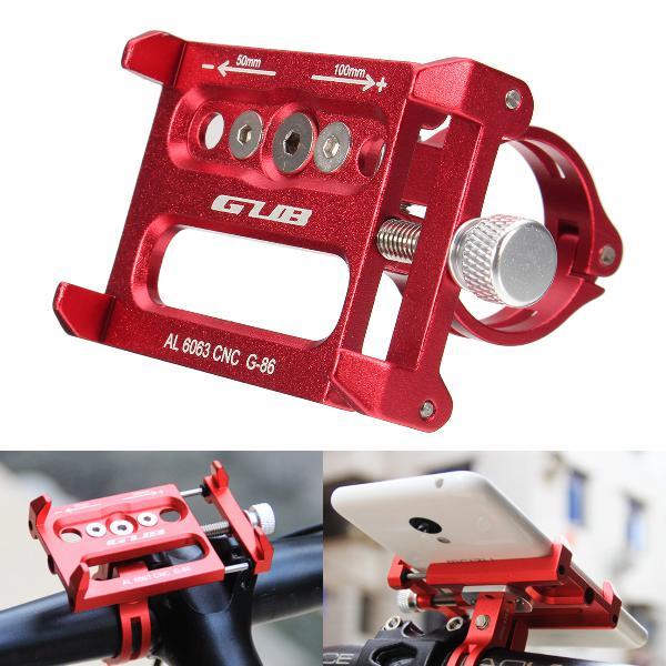 Aluminum bike motorcycle phone gps holder handbar clip stand