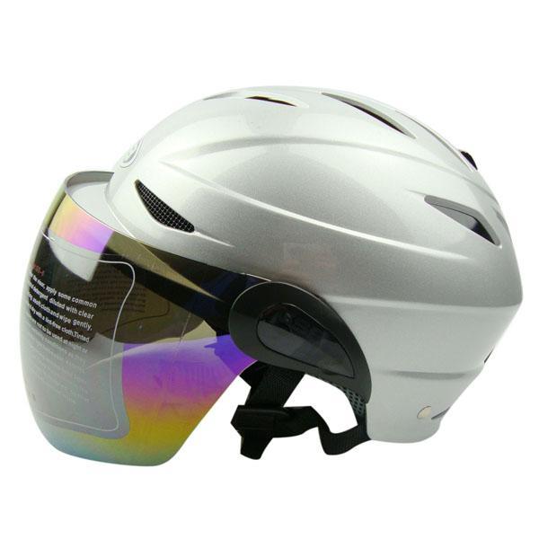 Half face helmet motorcycle electric summer uv helmet for
