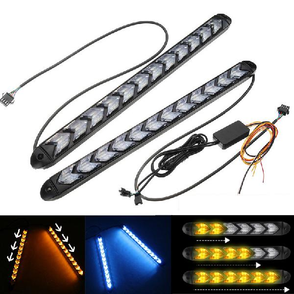 Led strip sequential flowing running water turn lights 2835