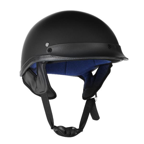 Motorcycle german style half face helmet scooter bike matt