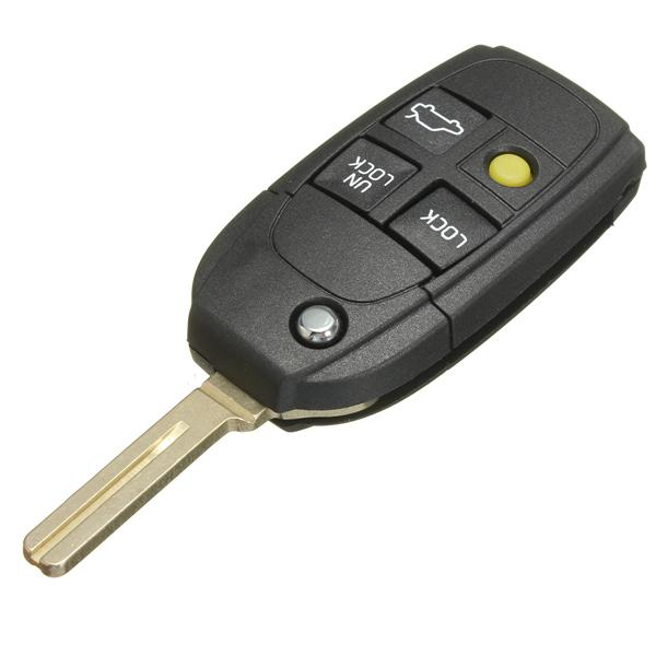 Volvo S70 V70 C70 Keyless Entry Remote Key CASE ONLY FOB WITH OUT PANIC NEW