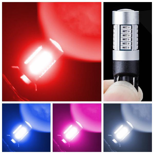 T10 dc10-30v 2w decorative led dash instrument light turning