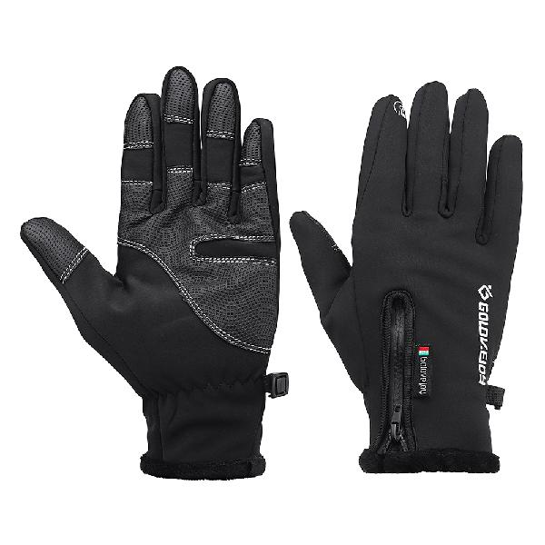 Upgraded waterproof touch screen gloves for motorcycle