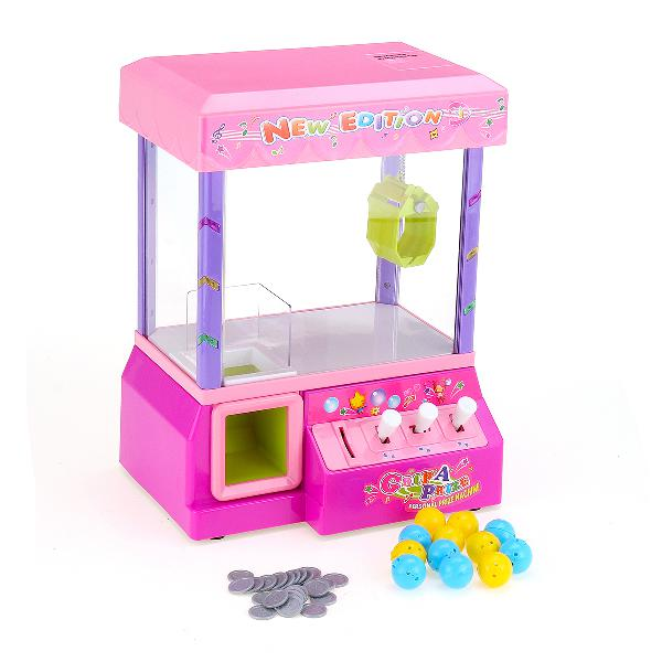 Electronic claw game crane candy doll machine grabber kids