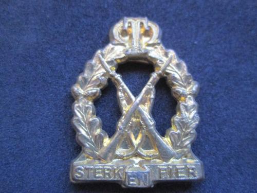 Regiment tobie muller collar badge-rare badge-1956 to 1963