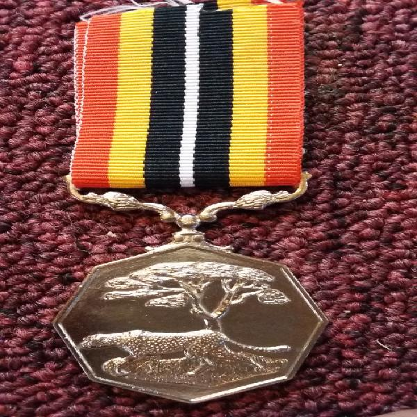 Sadf - southern africa medal (full size) - numbered