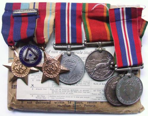 Wwii husband and wife medal set