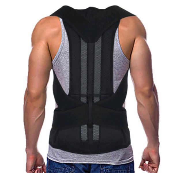 Adjustable back support belt back posture corrector shoulder