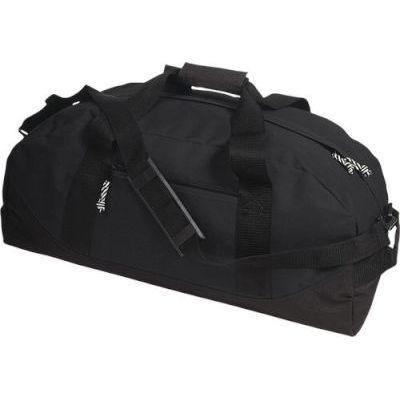 ECO Two Tone Sports Duffel Bag (Black)