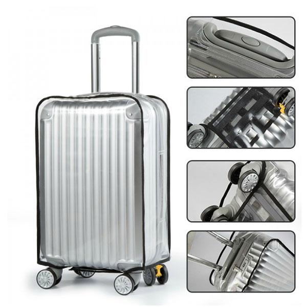 Honana HN-0828 PVC Clear Luggage Cover Waterproof Scratch