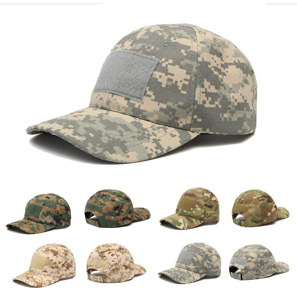 IPRee Camping Tactical Camouflage Sunhat Adjustable Travel
