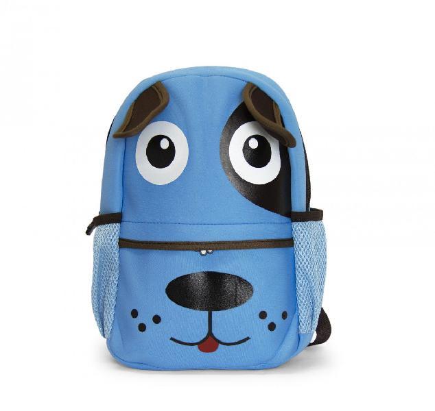 Kids neoprene backpacks - puppy blue