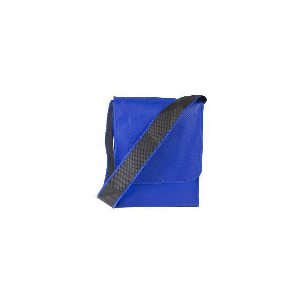 Rectangle shoulder bag blue