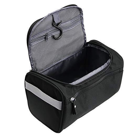 TravelMore Hanging Travel Toiletry Bag Organizer & Bathroom