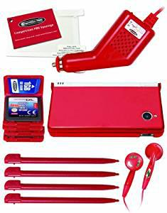 Competition pro travel essentials pack - red (nintendo dsi)