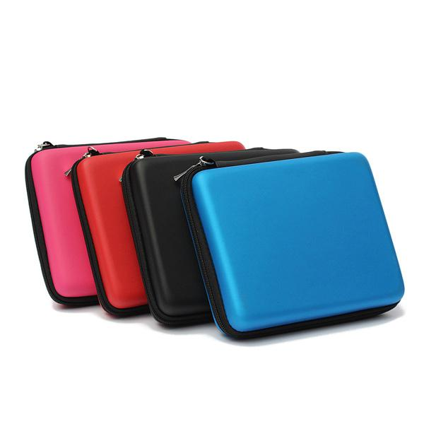 Eva protective storage case with carry handle for nintendo