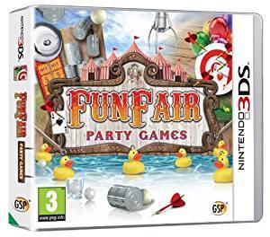 Funfair party games (nintendo 3ds) (u)