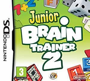 Junior brain trainer 2 (nintendo ds) (u)
