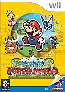 Nintendo selects: super paper mario (nintendo wii) (u)