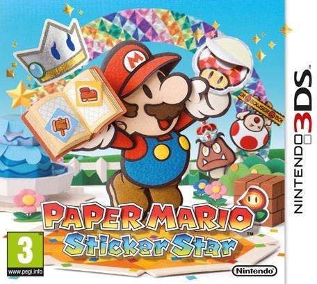 Paper mario: sticker star (3ds eur)