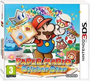 Paper mario sticker star (nintendo 3ds) (u)