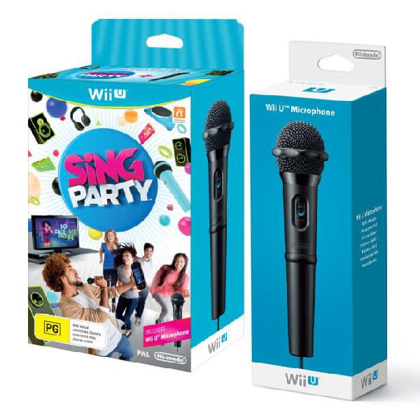 Sing party (wii u pal) with mic