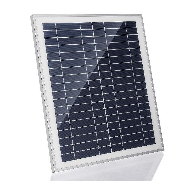 25w portable solar panel kit dc usb charging double usb