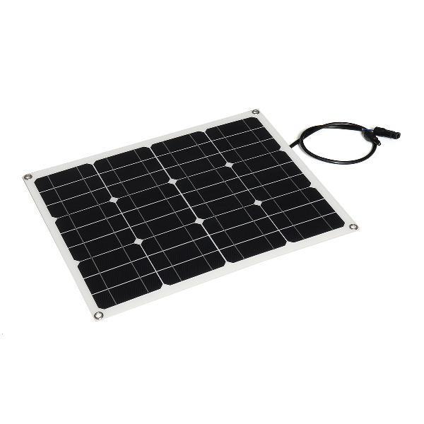 40w solar panel controller car charger mc4 output battery