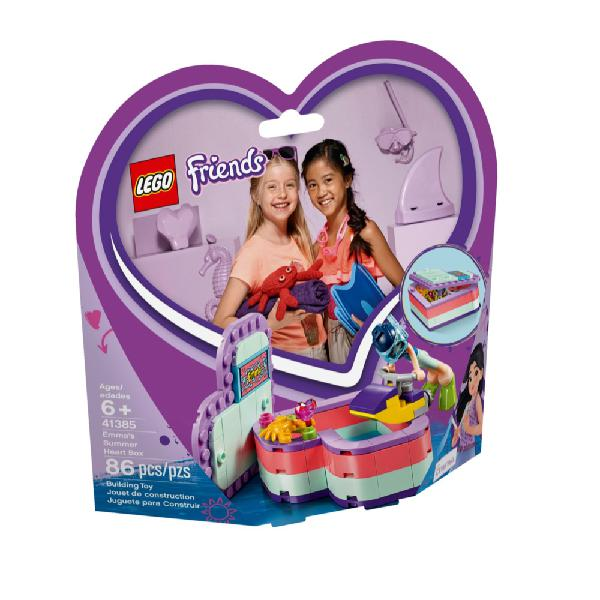 41385 | lego emma's summer heart box