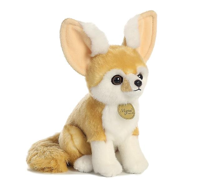 Aurora world miyoni fennec fox plush