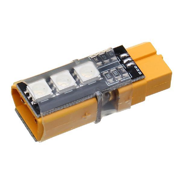 Strix xt60 plug rgb colorful led light tap female male plug
