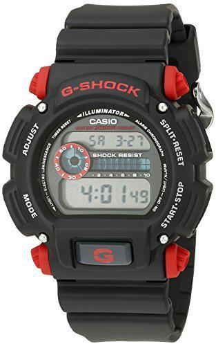 Casio men's g-shock dw9052-1c4cr black resin sport watch