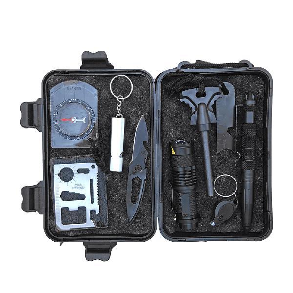 Outdoor sos emergency equipment tool supplies survival kit