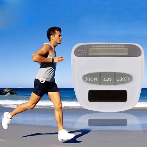 Solar energy electronic sports pedometer multi-function